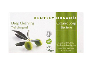 Bentley Deep Cleansing Soap With Olive Tea Tree & Eucalyptus 150g
