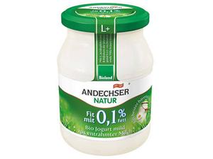 Andechser Natural Mild Organic Yoghurt 0.1% 500g