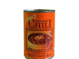 Amys Medium Chili With Vegetables 416g