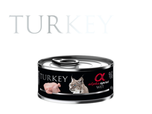 Alpha Spirit Treats Turkey For Cats 85g
