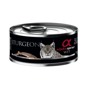 Alpha Spirit Treats Sturgeon For Cats 85g
