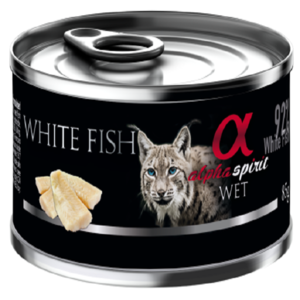Alpha Spirit Treats White Fish For Cats 85g