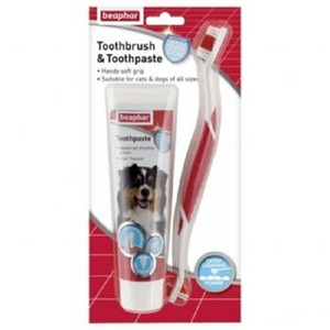 Beaphar Toothbrush & Toothpaste Combipack 1s