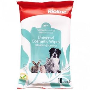 Bioline Universal Cosmetic Wipes 10pcs
