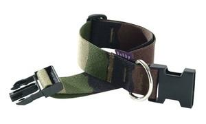 Bobby Camouflage Collar Small Kaki 16mm