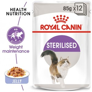 Royal Canin Jelly Sterilised Pouches 85g