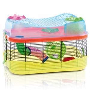 Imac Fantasy Blue Hamster Cage 1pc
