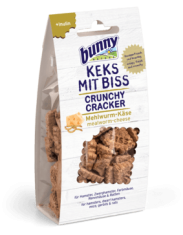 Bunny Crunchy Cracker With Mealworm And Cheese 50g