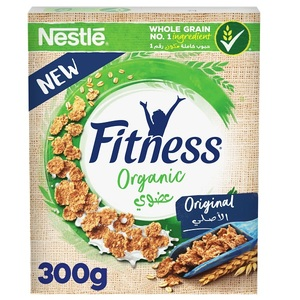 Nestle Fitness Organic Cereals made with Whole Grain Box 300g