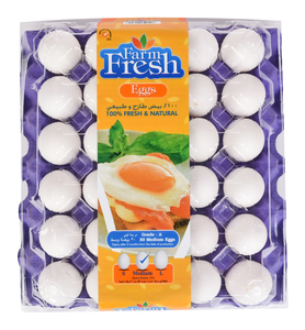 Farmfresh White Egg Medium 30s