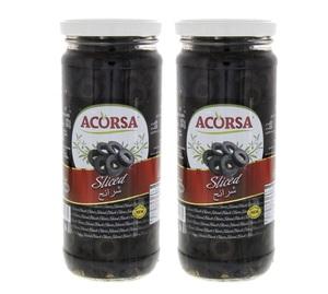 Acorsa Olives Black Sliced 2x230g