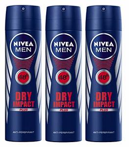 Nivea Deo Spray Dry Men 3x150ml