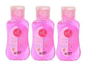 Silky Cool Hand Sanitizer Gel 3x60ml