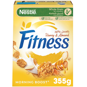 Nestle Fitness Honey and Almonds Breakfast Cereal 355g