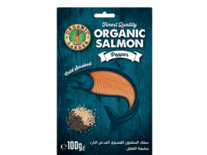 Cold Smoked Salmon Pepper 100g