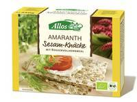 Allos Amaranth Crisp-Bread With Sesame 250g