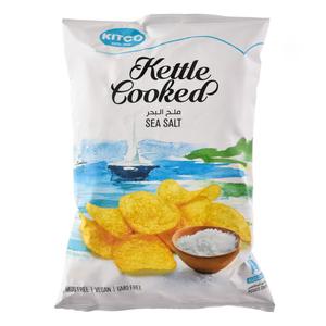 Kitco Kettle Cooked Sea Salt 150g