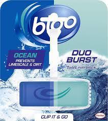 Bloo Duo Burst Ocean Toilet Rim Block 40g