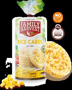Family Harvest Rice Cake With Sea Salt 100g