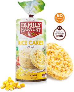 Family Harvest Rice Cake With Pumpkin Seeds 100g