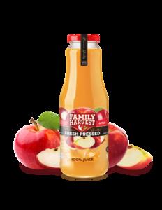 Family Harvest Apple Ginger Juice Volume 300ml