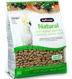 Zupreem Natural Diet Large Parrots 3.5lb