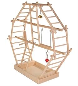 Trixie Wooden Ladder Playground 44×44×16cm