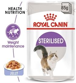 Royal Canin Sterilised In Jelly 85gx12