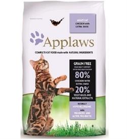 Applaws Adult Cat Dry Chicken & Duck 2kg