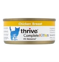 Thrive Complete Kitten Wet Food Chicken 75g