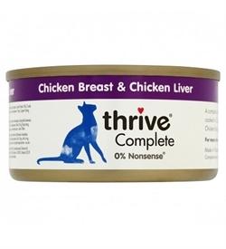 Thrive Complete Chicken Breast & Chicken Liver 75g