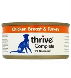 Thrive Complete Chicken Breast & Turkey 75g