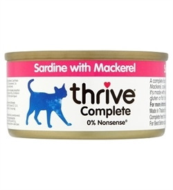 Thrive Complete Sardine With Mackerel 75g