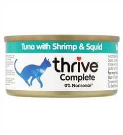 Thrive Complete Cat Tuna With Shrimp & Squid 75g