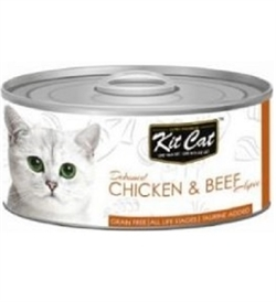 Kit Cat Chicken & Beef Topper 80g
