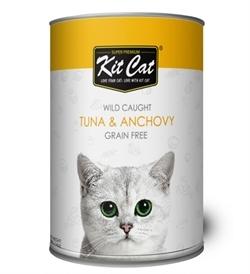 Kit Cat Wild Caught Tuna & Anchovy 400g