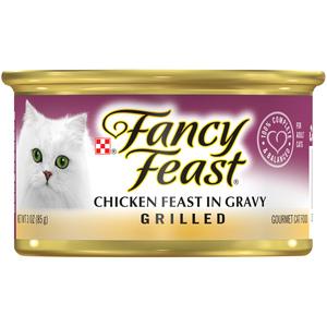 Purina Fancy Feast Grilled Chicken Wet Cat Food 85g