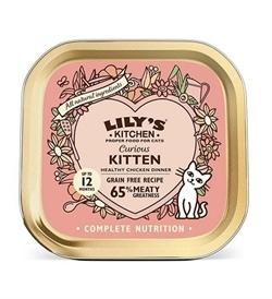 Lilys Kitchen Chicken Dinner For Curious Kittens 85g