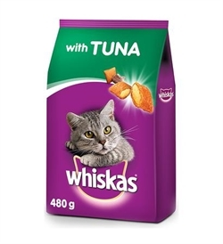 Whiskas Adult Tuna 480g