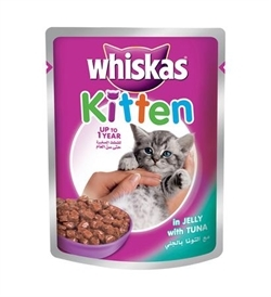 Whiskas Kitten Jelly With Tuna 85g