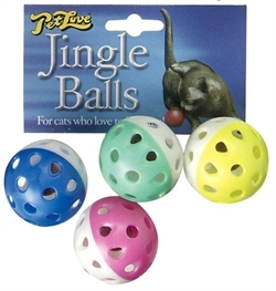Petlove Jingle Balls 4pc
