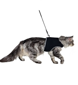 Trixie Soft Harness With Lead For Large Cats 1pc