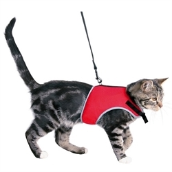 Trixie Soft Harness With Lead For Cats 1pc