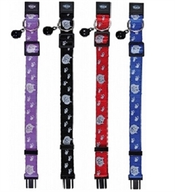Trixie Nylon Cat Collar With Bell 1pc