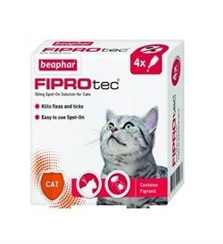Beaphar Fiprotec Spot-On For Cats 4 vials