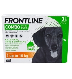 Frontline Combo For Small Dogs 3pipettes