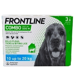 Frontline Combo For Medium Dogs 3pipettes