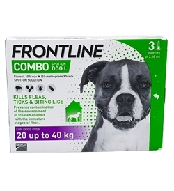 Frontline Combo For Large Dogs 3pipettes
