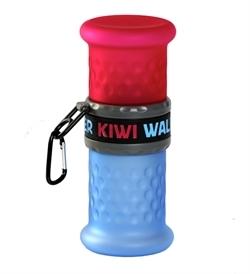 Kiwi Walker Travel Bottle 2In1 Pink/Blue 750ml,500ml