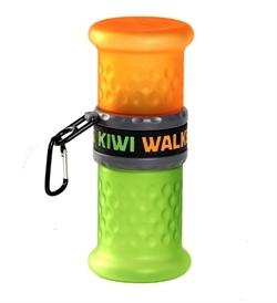 Kiwi Walker Travel Bottle 2In1 Orange/Green 750ml,500ml
